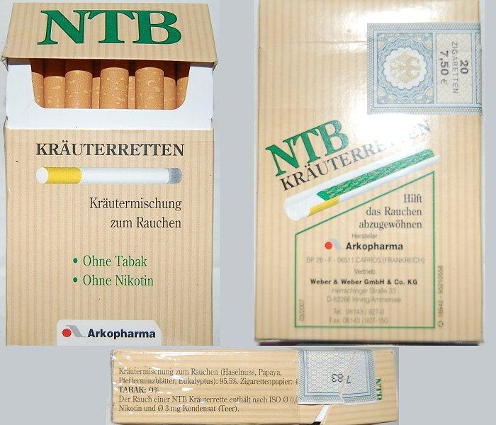 Zigaretten ntb Zigaretten und